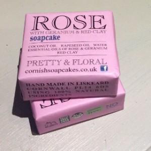 Rose Soapcake