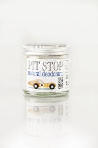 White deodorant